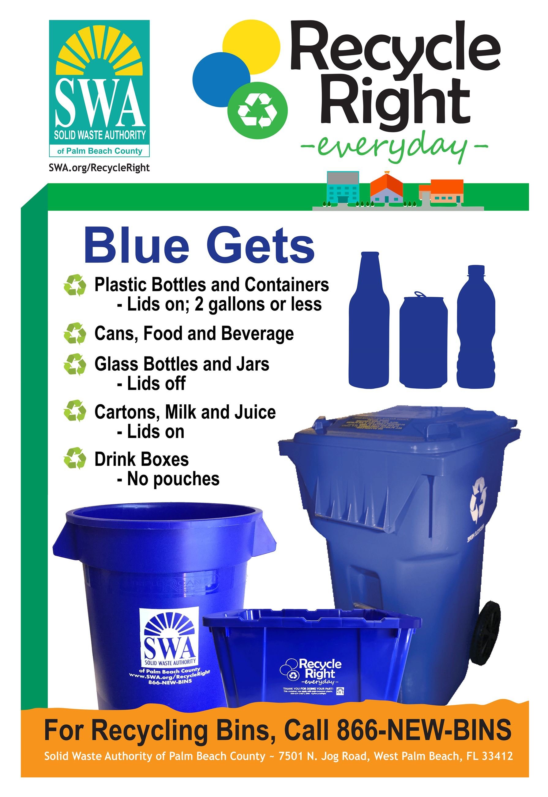2018 Blue Recycle Right Flyer for Web