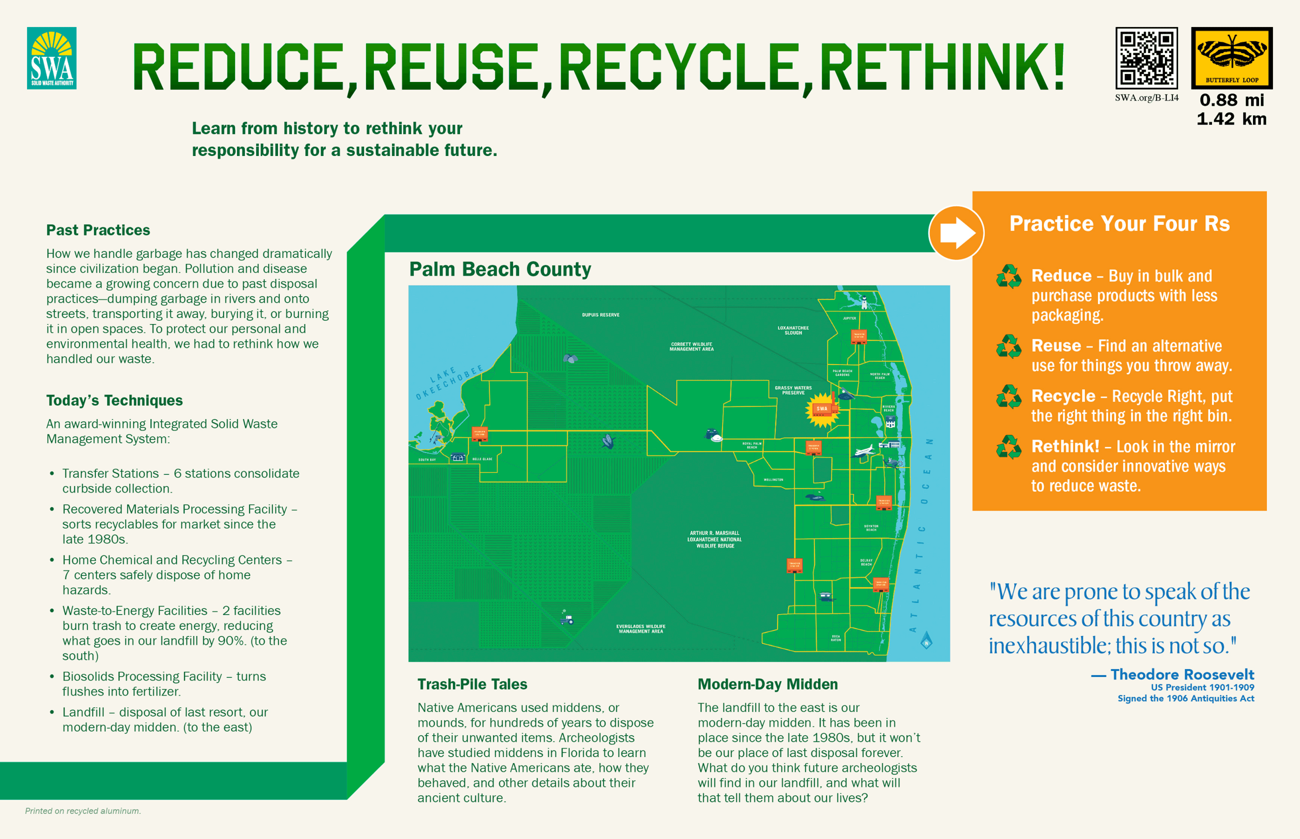 Reduce Reuce Recycle Rethink