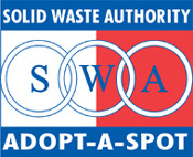 Solid Waste Authority Adopt-A-Spot Logo