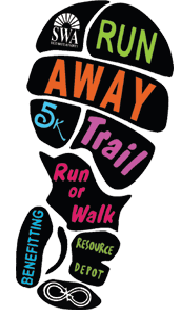 5K Run Away Foot